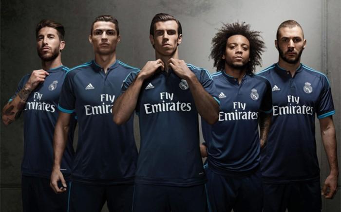Real Madrid patrocinado por Adidas