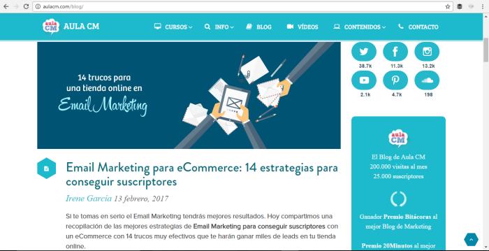 blog corporativo aulacm